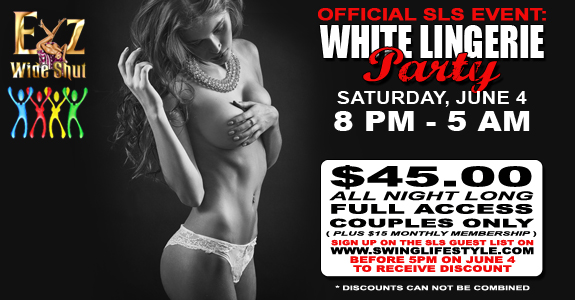 SLS White Lingerie Party