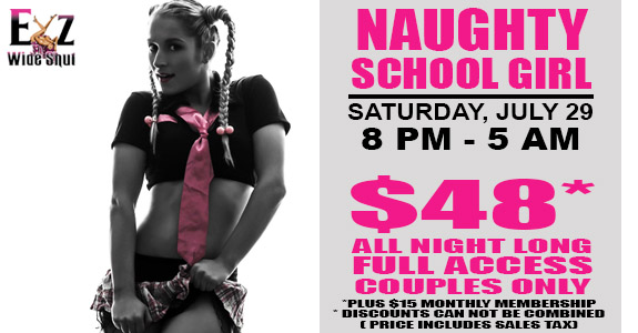 Naughty School Girl Party