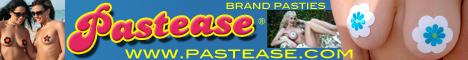 Pastease brand pasties self-adhesive , waterproof nipple covers - swimwear and clubwear